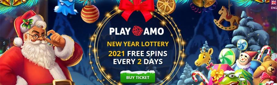 New Year Lottery Promotion at Playamo Casino