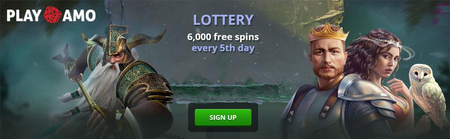 Playamo Casino Lottery Tournament