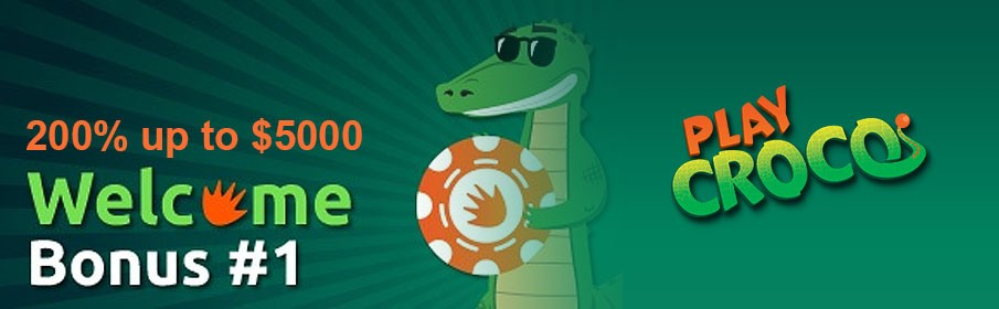 PlayCroco Casino New Player Bonus