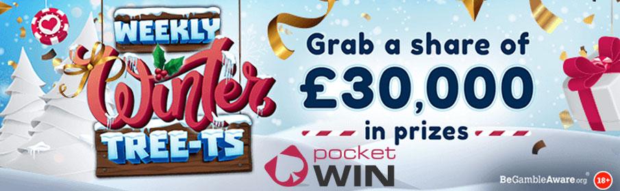 Christmas Draw at Pocket Win Casino