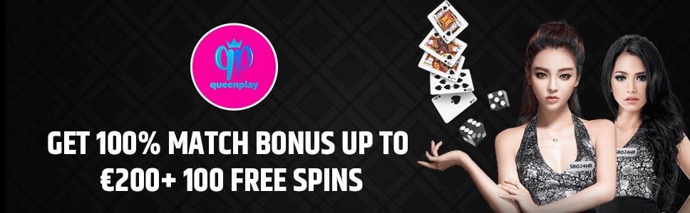 Queenplay Casino Welcome Bonus