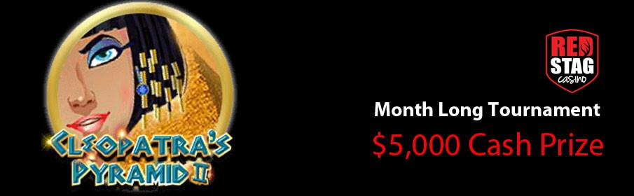 Red Stag Casino $5,000 Cash Prize Month Long Tournament