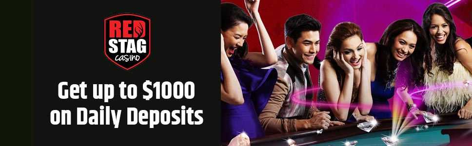 Red Stag Casino Chaser Bonus