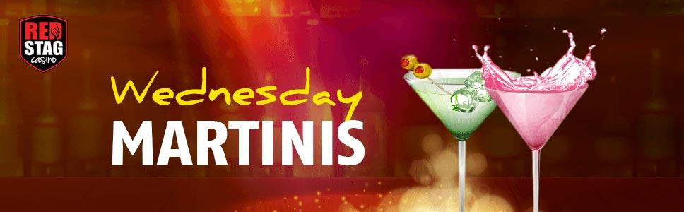 Red Stag Casino Wednesday Martinis Bonus