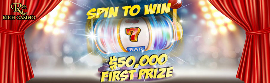 Rich Casino Spin to Win Promotion