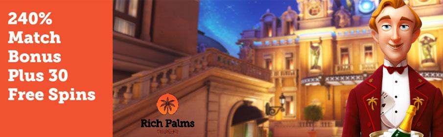 Rich Palms Casino Magic Kiss Bonus