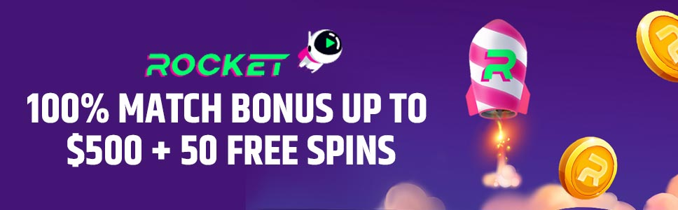 Casino Rocket Welcome Bonus