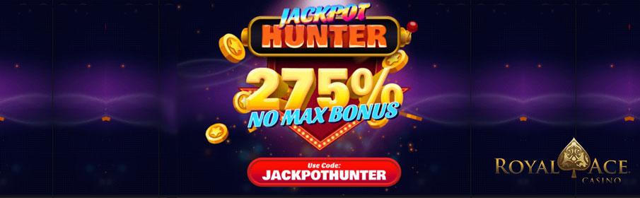 Royal Ace Casino 275% Match Bonus