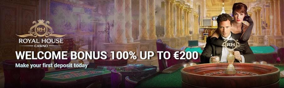 Royal House Casino First Deposit Bonus