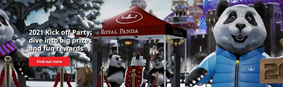 Royal Panda Casino 2021 Kick off Party Promotion