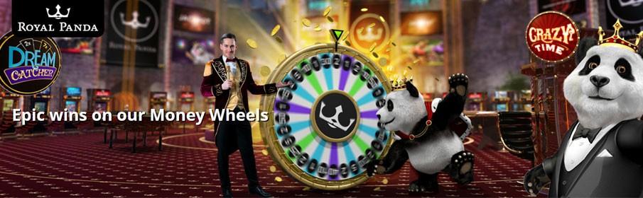 Royal Panda Casino Money Wheels Promotion