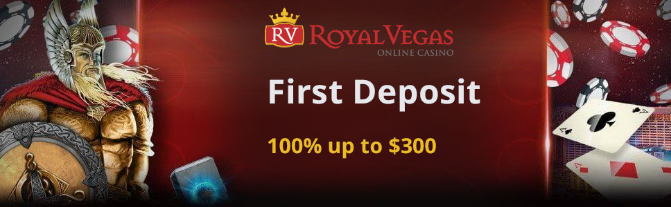 Royal Vegas Sign Up Bonus