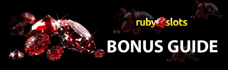 Ruby Slots Bonuses & Promotions