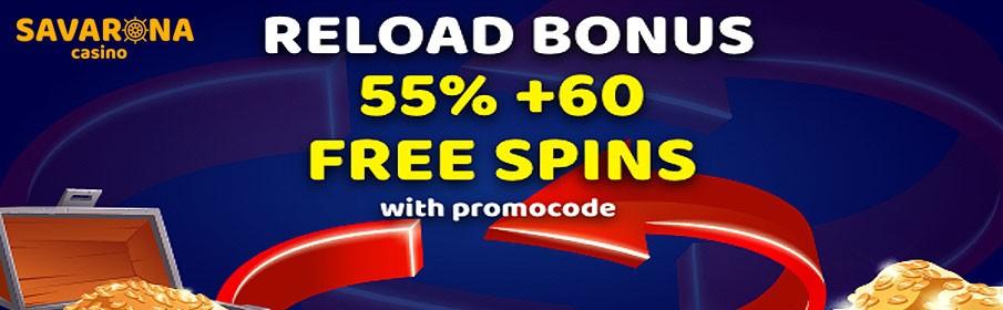 Savarona Casino Reload Bonus