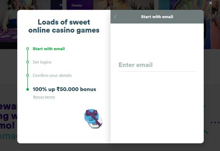 Casumo Casino Sign Up