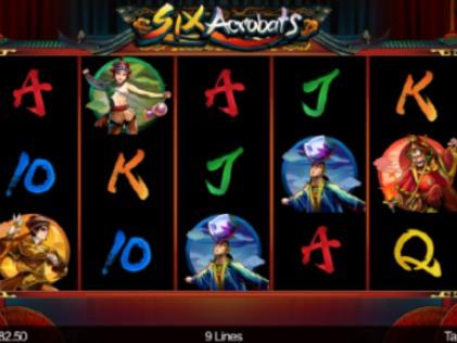 Six Acrobat slot