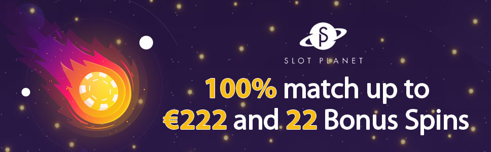 Slot Planet Casino Welcome Bonus