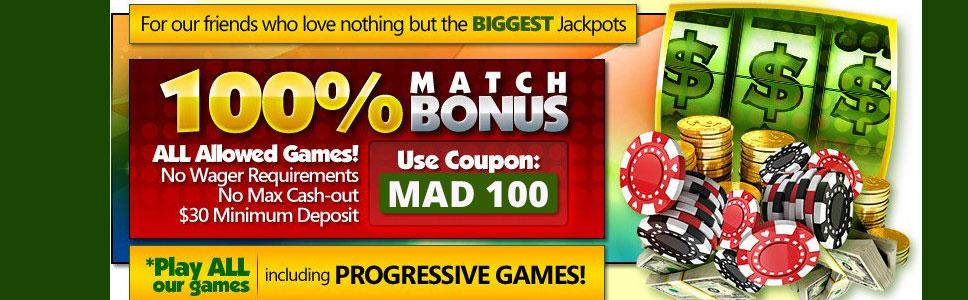 Slot Madness No Deposit Bonus Codes 2021