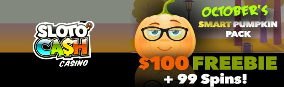 SlotoCash Casino 350% Match Bonus