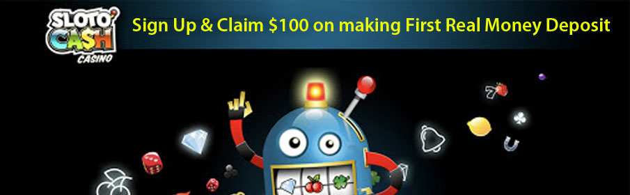 SlotoCash Casino First Deposit Bonus