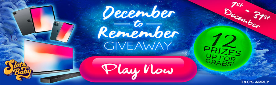 Slots Baby Casino A November to Remember Promotion