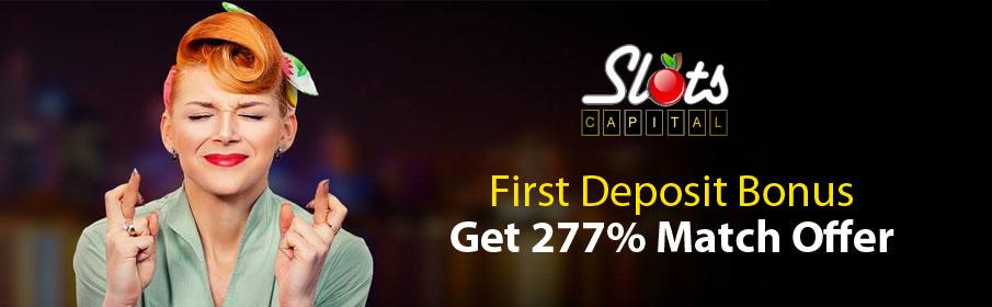Slots Capital Casino First Deposit Bonus