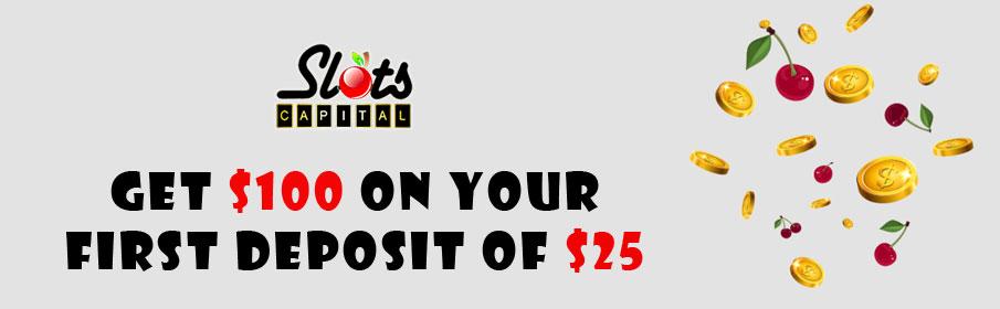 Slots Capital Casino Welcome Bonus