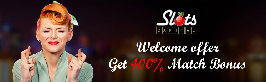 Slots Capital Casino Welcome offer
