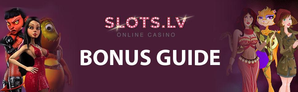SlotsLV Casino Bonus & Promotions