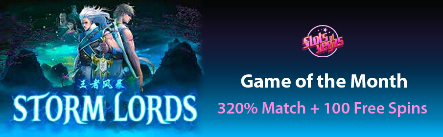 Slots of Vegas Casino 320% Match Bonus & 100 Free Spins