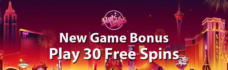 Slots of Vegas Casino New Game Bonus