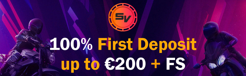 Slotv Casino Welcome Bonus