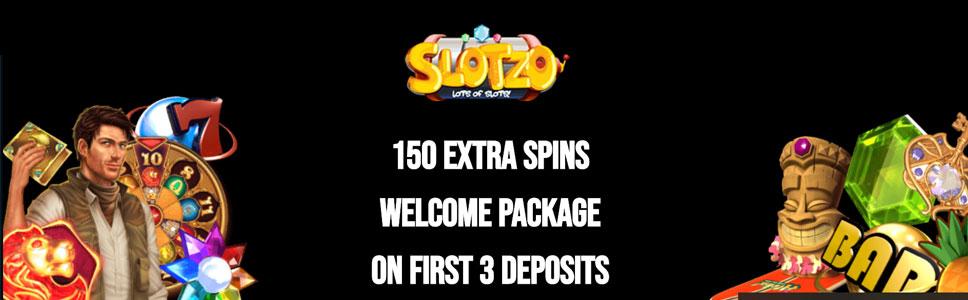 SLotzo Casino Welcome Bonus