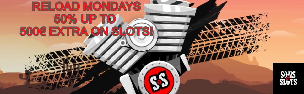 Son of Slots Monday Reload Bonus