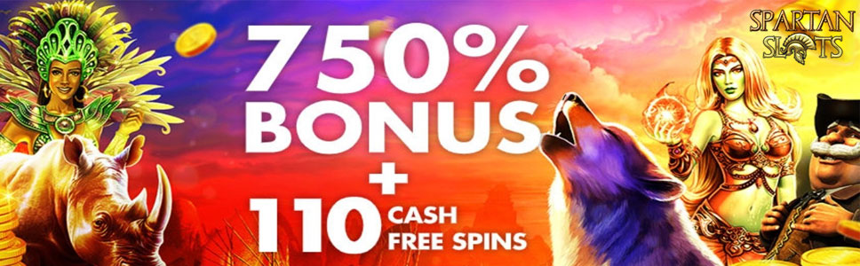 Spartan Slots Casino Sign Up Bonus