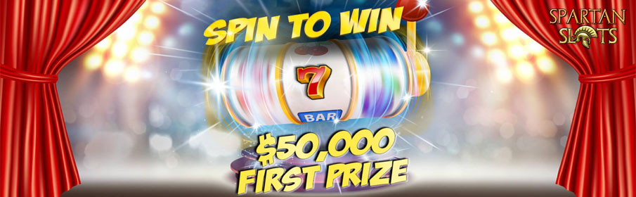 Spartan Slots Casino Spin to Win Promotion
