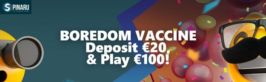 Spinaru Casino 400% Match Deposit Bonus