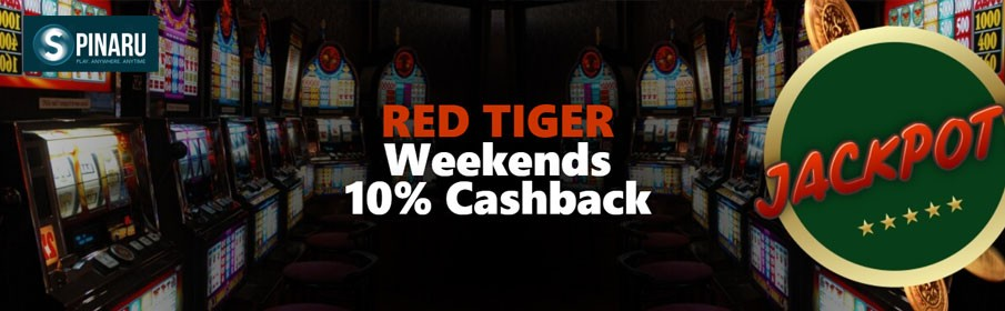 Spinaru Casino 10% Weekend Cashback Bonus