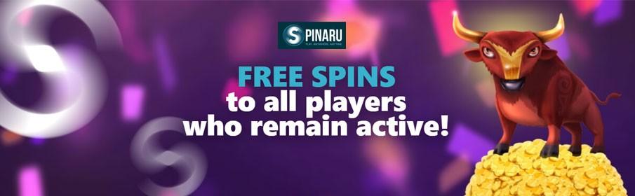 Spinaru Casino Weekly Giveaway
