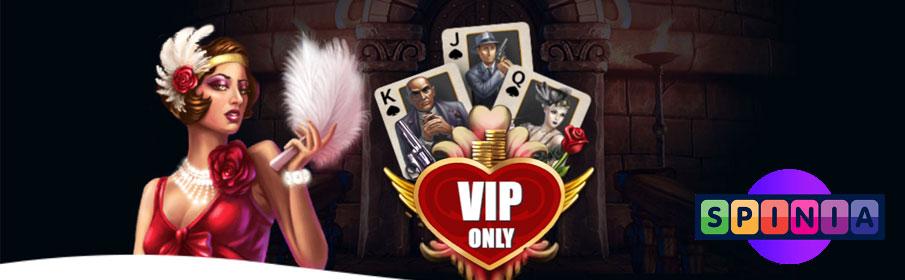 Spinia Casino VIP Rewards Program