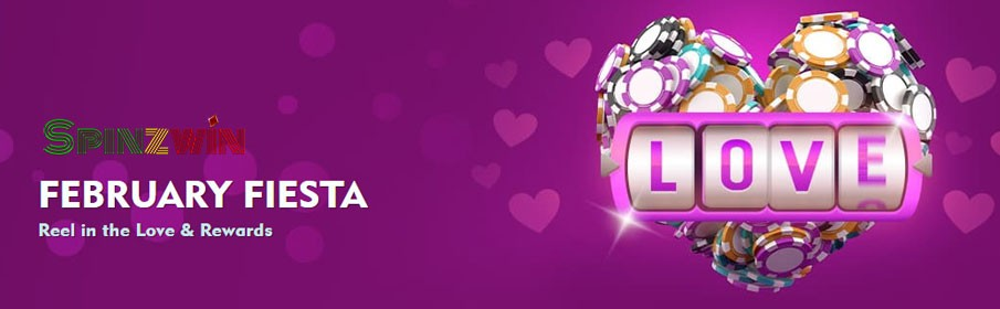 SpinzWin Casino February Fiesta Bonus