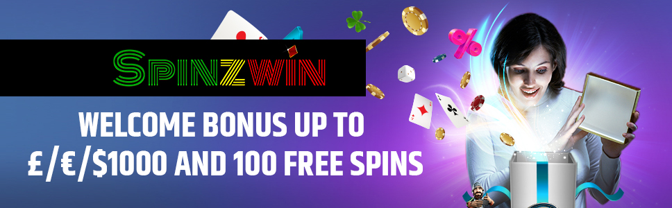Spinzwin Casino Welcome Bonus