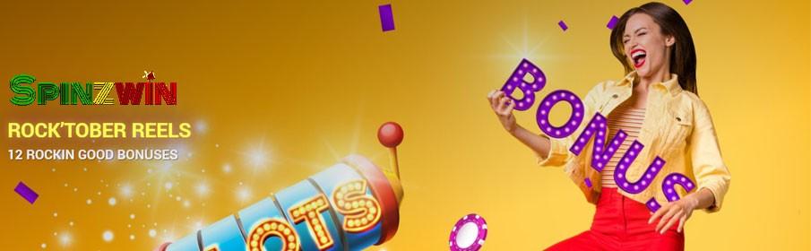 SpinzWin Casino Monthly Bonus
