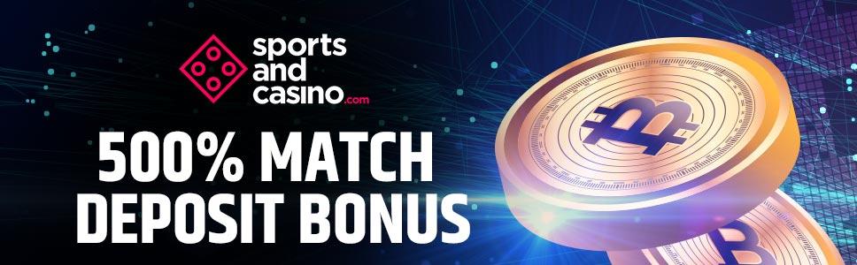SPortsandCasino Bitcoin Bonus