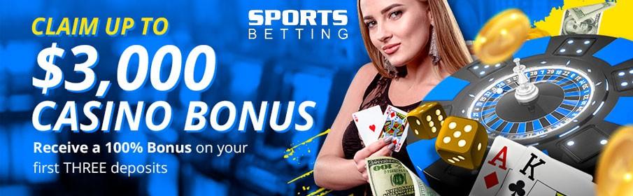 SportsBetting Casino Second Deposit Bonus