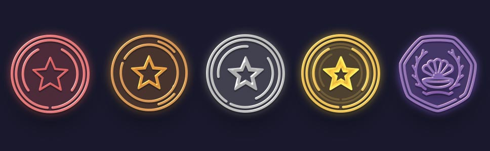 Golden Star Casino Status and Points