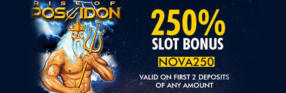 Supernova Casino First Deposit Offer