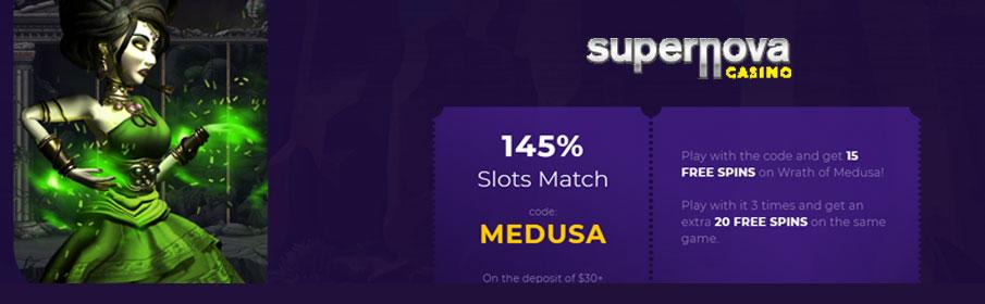 Supernova Casino Games Offer