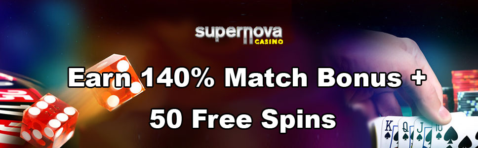 Supernova Casino Weekend Promo