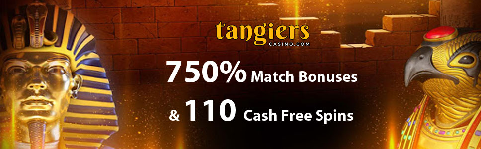 tangiers Casino Welcome Bonus